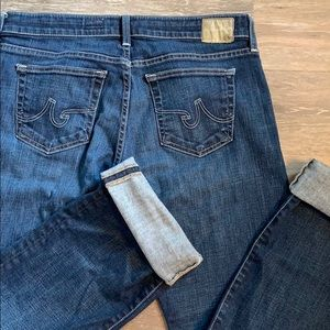 AG the tomboy straight leg jeans!  Size 31